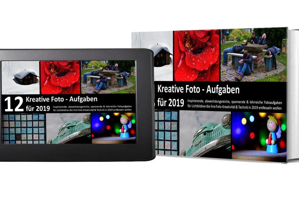 """eBook – """"12 Kreative Foto Aufgaben für 2019"""""""