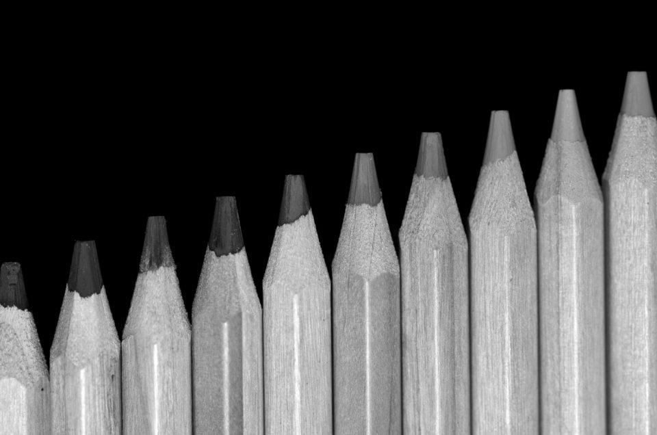 7x Schwarz-Weiß Fotos
